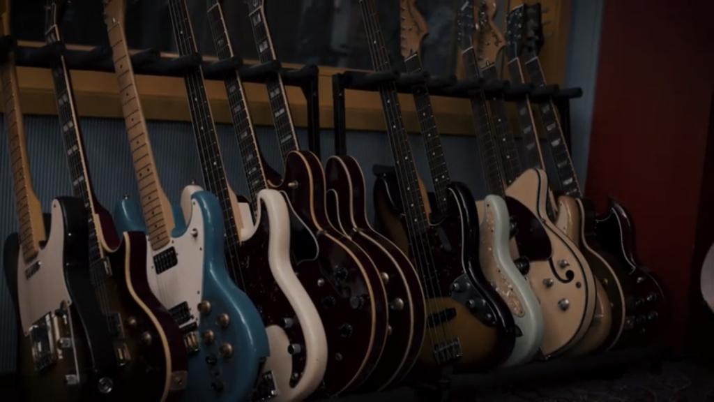 photos guitares